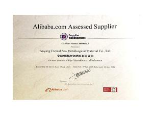 Alibaba Gold Products Certification