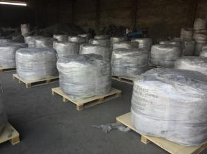 Export goods awaiting dispatch